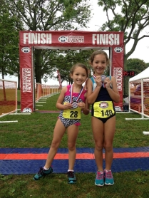 My lil triathletes!